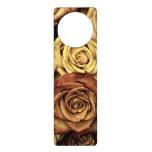 Rosas del vintage colgador para puerta