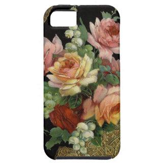 Rosas del vintage funda para iPhone 5 tough