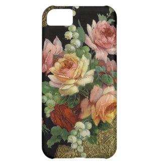 Rosas del vintage funda para iPhone 5C