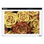 Rosas del vintage para su color de rosa skins para portátil