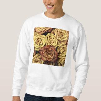 Rosas del vintage sudaderas encapuchadas