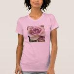 Rosas deliciosos de la lavanda camisetas