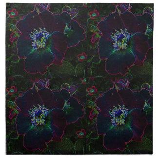 Rosas eléctricos servilletas de papel