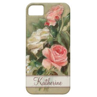 Rosas elegantes lamentables iPhone 5 carcasas
