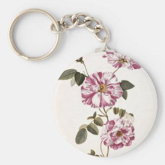 Rosas elegantes lamentables llaveros personalizados