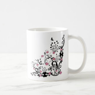 rosas elegantes taza clásica
