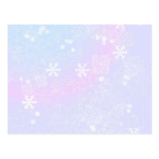 Rosas en colores pastel del navidad tarjetas postales