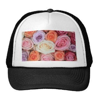 Rosas en colores pastel mezclados por Therosegarde Gorro De Camionero