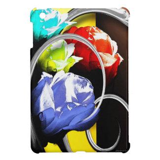 Rosas en extracto iPad mini funda
