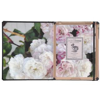 Rosas en la cerca iPad cárcasa