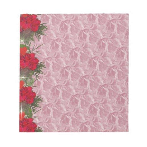 Rosas en la frontera blocs de notas