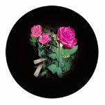 Rosas en negro esculturas fotográficas
