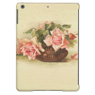 Rosas en un cuenco de cobre de Catalina Klein Funda iPad Air