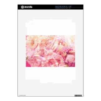 Rosas envueltos calcomanía para iPad 2