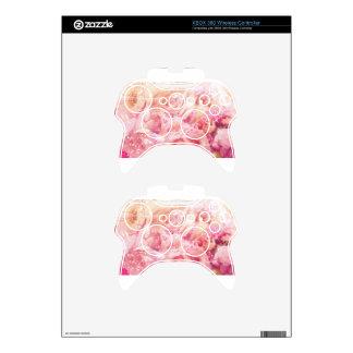 Rosas envueltos mando xbox 360 skins
