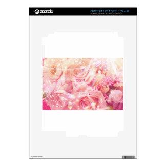 Rosas envueltos pegatinas skins para iPad 3