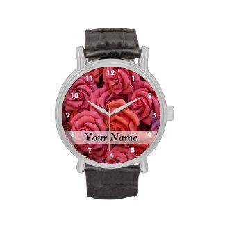 Rosas florales rosados