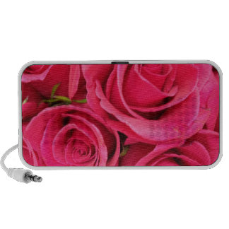 ROSAS FLORALES ROSADOS iPod ALTAVOCES
