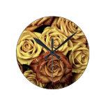 Rosas florecientes relojes
