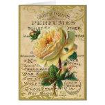 Rosas franceses antiguos felicitaciones