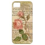Rosas franceses antiguos iPhone 5 fundas