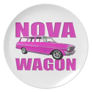 rosas fuertes 1963 del carro de la Nova Platos