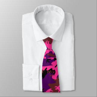 Rosas fuertes Camo Corbata Personalizada