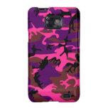 Rosas fuertes Camo Samsung Galaxy S2 Carcasa
