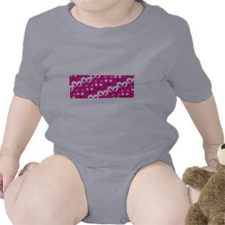 Rosas fuertes del modelo del ratón del gato trajes de bebé