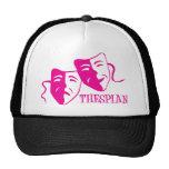 rosas fuertes del thespian gorras de camionero