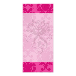 rosas fuertes en modelo elegante rosado del damasc plantillas de lonas