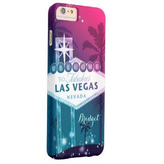 Rosas fuertes Las Vegas Funda Barely There iPhone 6 Plus