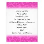Rosas fuertes Paisley Invitacion Personal