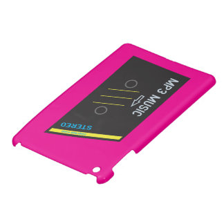ROSAS FUERTES retras del reproductor de casete iPad Mini Carcasas
