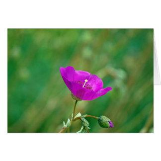 Rosas fuertes tarjeta de felicitación