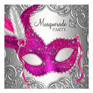 Rosas fuertes y fiesta de la mascarada de la másca