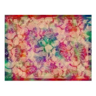 Rosas gitanos del cordón tarjeta postal
