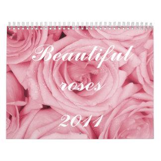 Rosas hermosos, calendario 2011