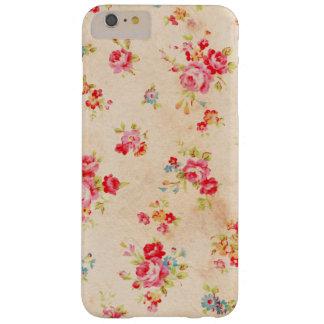Rosas hermosos del vintage y otras flores funda de iPhone 6 plus barely there