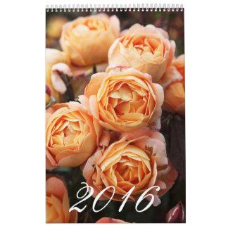 Rosas ingleses tradicionales calendarios
