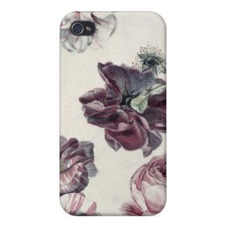 Rosas iPhone 4/4S Carcasa