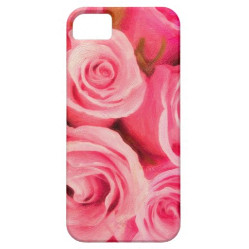 rosas iPhone 5 carcasa