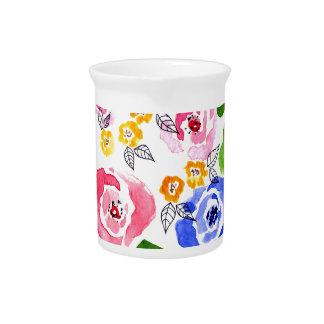 rosas jarra