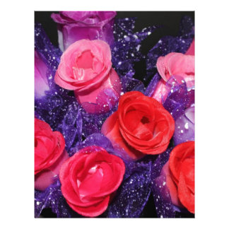Rosas Plantilla De Membrete