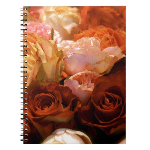 Rosas Libros De Apuntes