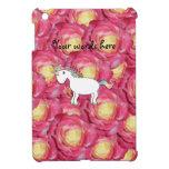 Rosas lindos del rosa del unicornio iPad mini funda