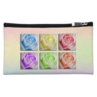 Rosas macros del arco iris