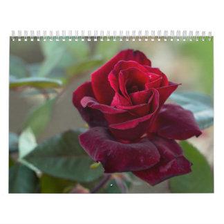 Rosas mágicos calendario de pared