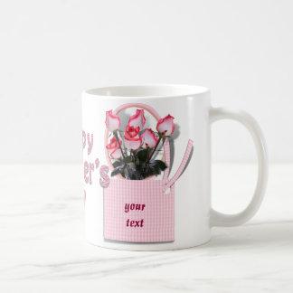 Rosas para alguien especial el el día de madre taza de café
