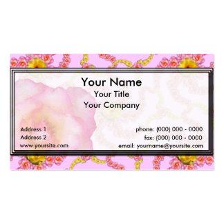 Rosas para Amina LG cualquier tarjeta de visita de